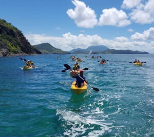 Kayaking in St. Kitts