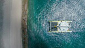 catamaran sail to nevis